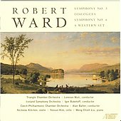 Robert Ward: Symphonies no 3 & 6, etc / Alan Balter, et al