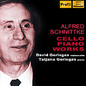 Schnittke: Cello Piano Works / David and Tatjana Geringas