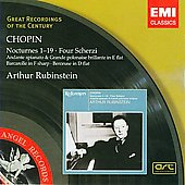 Chopin: Nocturnes no 1-19, Four Scherzi, etc / Rubinstein