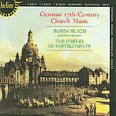 German 17th-Century Church Music / Robin Blaze, et al