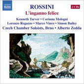 Rossini: L'inganno felice / Zedda, Tarver, Mologni, Regazzo, Vinco, Bailey, Czech Chamber Soloists Brno