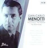 Menotti: The Consul, The Medium, The Telephone / Engel, Balaban, Rescigno, et al