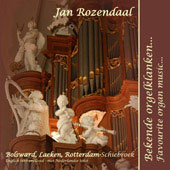 Favorite Organ Music - Asma, Lange, Merkel, Bach, etc / Jan Rozendaal