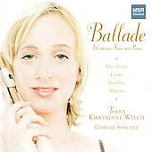 Ballade - Works for Flute & Piano - Fauré, et al / Martin, Sanchez, Welch, et al