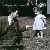 Dallapiccola: A Portrait / David Wilde, piano; Susan Hamilton, soprano; Robert Irvine, cello