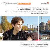 Works for cello & piano by Saint-Saëns, Beethoven, Ginastera, Janácek, Brahms / Maximilian Hornung, cello; Gerhard Vielhaber, piano