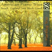 American Piano Trios: Beatch, Copland, Ives, Bloch, Cowell