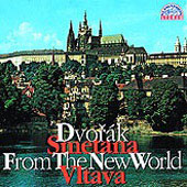 Dvorák: From the New World;  Smetana: Vltava / Neumann