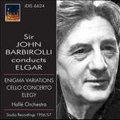 Sir John Barbirolli Conducts Elgar - Enigma Variations, Cello Concerto, Elegy