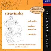 The Classic Sound - Stravinsky: Pulcinella, etc / Marriner