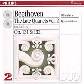 Beethoven: The Late Quartets Vol 2 / Quartetto Italiano