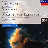 Holst: The Planets;  Williams, Strauss / Mehta, Los Angeles