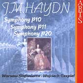 M. Haydn: Symphonies / Czepiel, Warsaw Sinfonietta