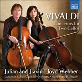 Vivaldi: Concertos for Two Cellos; Piazzolla: Milonga / Julian and Jizxin Lloyd Webber, cellos