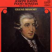 Haydn: Piano Sonatas no 23, 32, 36, 37 / Gilead Mishory