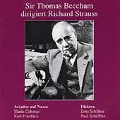 Sir Thomas Beecham dirigiert Richard Strauss