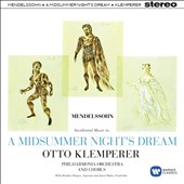 Mendelssohn: A Midsummer Night Dream / Philharmonia Orchestra, Otto Klemperer