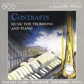 Contrasts - Music for Trombone & Piano / Clark, Romm