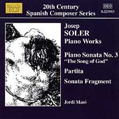 20th Century Spanish Composer Series - Josep Soler / Masó