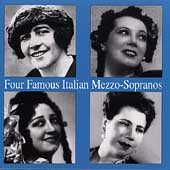 Four Famous Italian Mezzos / Minghini-Cattaneo, Elmo, et al