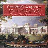 Great Haydn Symphonies - no 6, 45, 48, etc / Fischer, et al