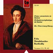 Mendelssohn: Psaumes 115, 95, 42 / Liang-Sheng, Geneva SO