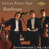 Beethoven: Piano Trios Op 1 no 2 & 3 / Vienna Piano Trio