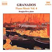 Granados: Piano Music Vol 4 / Douglas Riva