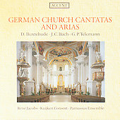 Buxtehude, Bach, Telemann: Church Cantatas and Arias