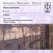 Vaughan Williams, Delius: Piano Concertos;  Finzi / Lane