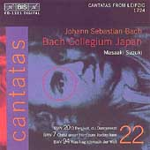 Bach: Cantatas Vol 22 / Suzuki, Bach Collegium Japan