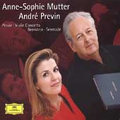 Previn: Violin Concerto; Bernstein: Serenade /Mutter, Previn