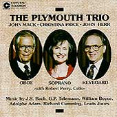 The Plymouth Trio - Bach, Telemann, Boyce, et al