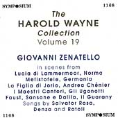 The Harold Wayne Collection Vol 19 - Giovanni Zenatello