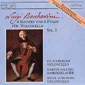 Boccherini: Sonate per Violoncello Vol 3 / Julius Berger