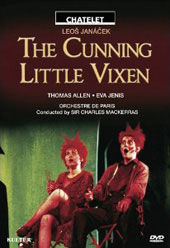 Janacek: The Cunning Little Vixen / Mackerras, Allen, Jenis [DVD]