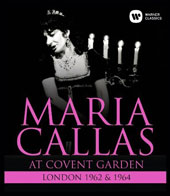 Maria Callas - At Covent Garden 1962 & 1964 / Maria Callas, soprano [Blu-ray]