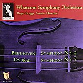 Beethoven, Dvorak: Symphonies / Briggs, Whatcom SO