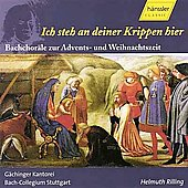 Bach: Ich steh an deiner Krippen hier, etc / Rilling, et al