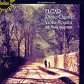 Elgar: Piano Quintet, Violin Sonata / The Nash Ensemble