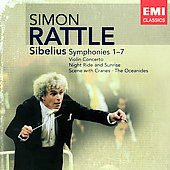 Sibelius: Symphonies no 1-7, etc / Simon Rattle