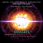 Mozart: Symphonies no 40 & 41, etc / Glover, Royal PO