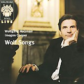 Songs by Schubert, Wolf, Fauré and Ravel / Wolfgang Holzmair, Imogen Cooper