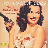Various Artists: Hot Rockin' Girls: Female Rock and Roll, 1956-1958