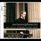 Metamorphose -  Works by Liszt, Busoni, Friedman / Joseph Moog, piano