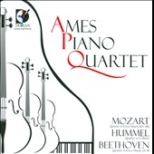 Piano Quartets by Beethoven, Mozart & Hummel / Ames Quartet