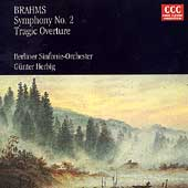 Brahms: Symphony no 2, Tragic Overture / Herbig, Berlin SO