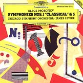 Prokofiev: Symphonies nos 1 & 5 / Levine, Chicago SO
