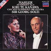 Mahler: Symphony no 4 / Solti, Te Kanawa, Chicago SO