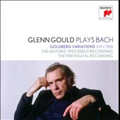 Glenn Gould Plays Bach: Goldberg Variations BWV 988 [2 versions from 1955 & 1981]